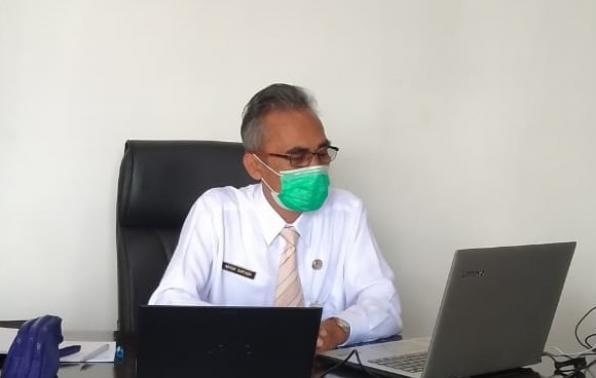 Kepala DKPUS Babel Asyraf Suryadin.