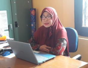 Ketua Panitia Lomba Pustakawan Berprestasi Tingkat Provinsi Tahun 2021, Rohayani.