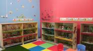Inilah ruangan baca khusus anak yang disediakan DKPUS Babel