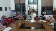 Kadis DPK Bangka Barat memimpin langsung kunjungan ke DKPUS Babel.