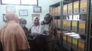 Tim DKPUS Babel saat melakukan penilaian kearsipan DKPUS, OPD, Pemdes/Kelurahan Kabupaten/Kota se-Babel.