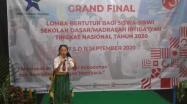 Embedded thumbnail for Grand Final Lomba Bertutur Bagi Siswa - Siswi SD/MI Tingkat Nasional Tahun 2020